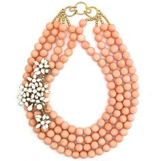 Sincerest Blooms necklace by Elva Fields #elvafields