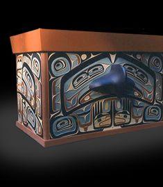 Hawk Chest ~ Duane Pasco | Northwest Coast Native-Style Artist