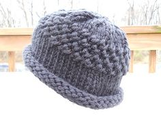 This is a hat designed for Delaware Head Huggers during jury duty! The pattern has instructions for sport, worsted, chunky and super bulky weight yarn as well as directions for adapting the size.