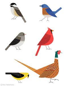 Martha Stewart Living September 2013 : Six birds
