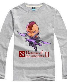 Dota 2 herói Magina imprimiu a camisa de t para homens-