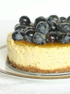 Goat Cheese Cheesecake, an easy cake with the perfect crust