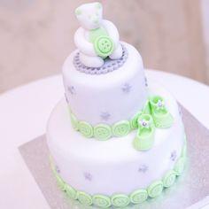 Gâteau de naissance mixte