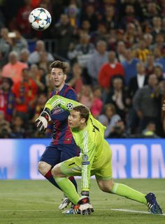 Super Manu couldn't beat Messi this time #FCBFCB #06.05.15