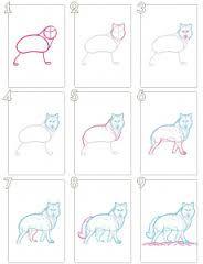 Resultado de imagen de dibujar animales paso a paso