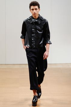 Fave Looks from the FW 2014 Menswear Collections ( Sibling, E. Tautz, Gieves + Hawkes, J.W. Anderson, Jonathan Saunders & MAN)