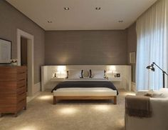 Main bedroom - colour dark mix with neutral Bedroom Colors, Bedroom Sets, Dream Bedroom, Home Decor Bedroom, Modern Bedroom, Master Bedroom, Bedrooms, Home Goods Decor, Suites