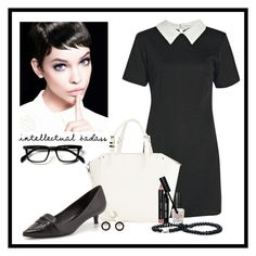 """Specs appeal #6"" by heather-peace on Polyvore featuring Boohoo, Warehouse, Tory Burch, OPI and Bobbi Brown Cosmetics"