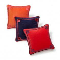 Embroidered Bamboo Pillow Cover