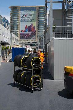 Tyre Selection ahead of the #EuropeanGP at the Baku City #F1 Circuit in Azerbaijan