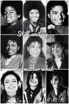 Four decades of Michael - The most beautiful smile in the world