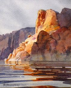 David Drummond landscape watercolor painting workshops 2010 in Jackson Hole Wyoming next to Grand Teton National Park and Yellowstone National Park at the Jackson Hole Art Academy at Wilcox Gallery