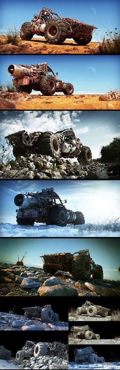 'Buggy Series' by Marek Denko