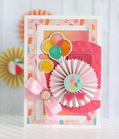 """Create a Sweet """"Summer Dreams"""" Card! - Echo Park Paper"""