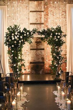 Rustic Wedding Decorations Awesome Tricks - Dazzling tips to make and turn it into a really stunning and amazing rustic wedding. rustic wedding decorations decoration ideas shared on this date 20181212 , decoration pin reference 3016680940 Wedding Goals, Wedding Themes, Wedding Planning, Indoor Wedding Decorations, Wedding Receptions, Indoor Wedding Arches, Budget Wedding, Reception Decorations, Wedding Lighting Indoor