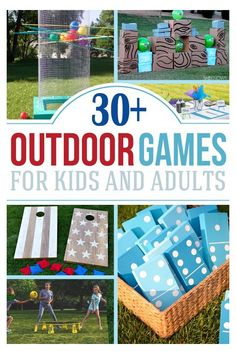 Outdoor Activities For Adults, Outdoor Activities For Kids, Fun Activities, Fun Games For Adults, Outdoor Party Games, Outdoor Fun, Giant Outdoor Games, Indoor Games, Outdoor Kids Parties