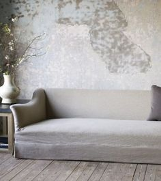 Soft goods and interesting upholstery on pinterest sofas for Axel vervoordt furniture
