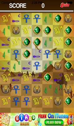 App Shopper: Ancient Pharaoh's Cryptic - Super Fun Match 3 Puzzle Game for Boys and Girls - Pro (Games)
