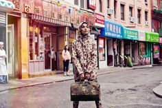 Adrianne Ho: The Unofficial Face of Menswear - camo
