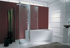 An exclusive design solution for busy people with busy lives; the Tandem tub shower combo is brought to you by Genesi. Allowing two people to use the tub shower...