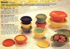 Vintage Tupperware: See retro plastic container styles, from the to the - Click Americana Tupperware Bowls, Vintage Tupperware, Vintage Pyrex, Picnic Foods, Picnic Recipes, Picnic Ideas, Plastic Containers, Food Storage Containers, Chocolate Chip Recipes