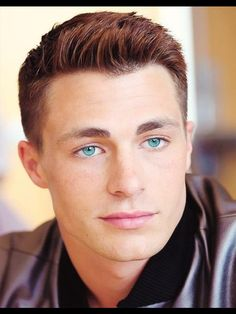 Colton Haynes eye color