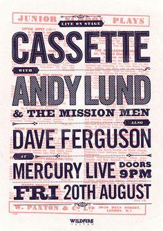 Andy Lund, Cassette & Dave Ferguson - Junior School Plays by Adam the Velcro Suit, via Flickr