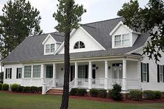 Southern Country with Front & Back Porch - Total Living Area: 2,568 sq. ft. + Basement Unfinished: 1,694 sq. ft.