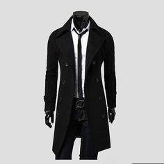 7086 - Manteaux fashion long  de grand qualité tailles M-3XL