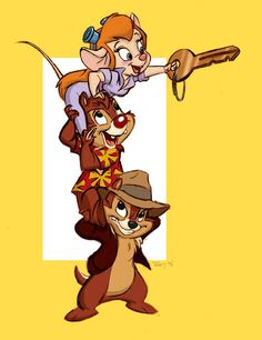 Chip & Dale's Rescue Rangers!