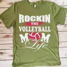 Rocking The Volleyball Mom Life 157 Great volleyball t shirt/mug/bag gift for family, friends, volleyball players, volleyball lovers or any women, men, girls, boys you know who loves volleyball. - get yours by clicking the link in my profile bio. Volleyball Mom, Volleyball Pictures, Volleyball Players, Great T Shirts, T Shirts For Women, Rugby Pictures, Rugby Quotes, Rugby Players, Gifts For Family