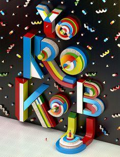 YOROKOBU Magazine on Behance #typography #type