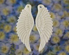 Wings, Carved Bone