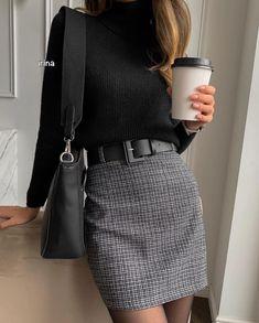 Winter Fashion Outfits, Work Fashion, Fall Outfits, Autumn Fashion, Fashion Looks, Fashion Clothes, Fashion Fashion, Fashion Women, Fashion Ideas