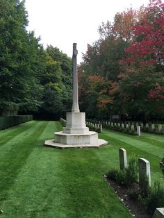 The War Memorial and War Graves in early autumn 2017.