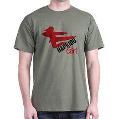 Hapkido Girl T-Shirt on CafePress.com