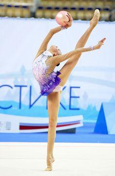 Rhythmic gymnastics hoop.