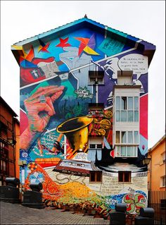 Urban art - Arte urbano - Panamá casco viejo