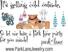 Free Jewelry for hostesses and the best sale around for customers.  Love Park Lane!  Let me set you up.  myparklane.com/jewelrygirl