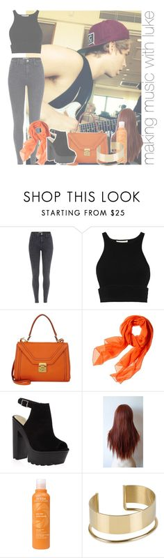 """making music with luke"" by rosa-brooks ❤ liked on Polyvore featuring River Island, Jonathan Simkhai, Mark Cross, Reed Krakoff, Aveda and By Malene Birger"