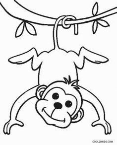 free printable monkey coloring pages for kids monkey coloring page monkey coloring pictures to print Zoo Animal Coloring Pages, Monkey Coloring Pages, School Coloring Pages, Cute Coloring Pages, Coloring Sheets For Kids, Free Printable Coloring Pages, Coloring Books, Printable Art, Animal Pictures For Kids