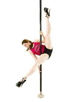 Irene Gollin - Studio Pole Monza | pole move: craddle straddle