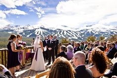 Nature Wedding Photography | The Lodge at Breckenridge, Colorado | http://thelodgeandspaatbreck.com/