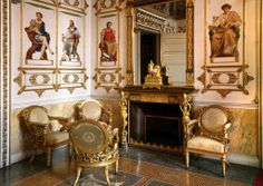 Salon, Castle Racconigi, Italy.