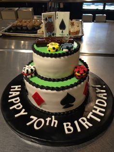 Poker Cake, by Simply Unique Cakes