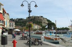 The lovely village of Cassis. Can you smell Summertime fragrance? #Cassis #France #Provence