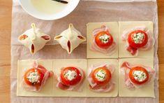Preparazione Fagottini di sfoglia, pomodoro e mozzarella - Fase 4