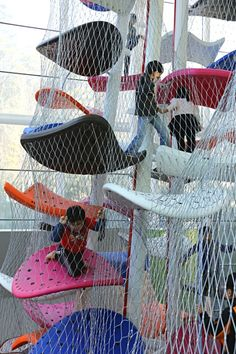 Gyeonggi Children's Museum Climbing Gym by Luckey