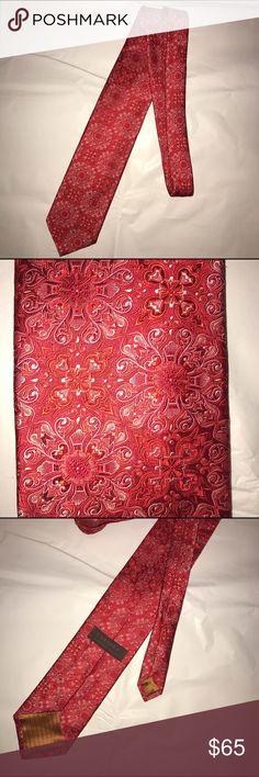 Chelsea by Robert Talbott silk tie EUC Chelsea by Robert Talbott silk tie EUC. Hand sewn in the USA. 💯% thick silk. EUC no marks or flaws. Beautiful pink pattern. Robert Talbott Accessories Ties