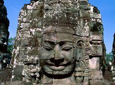 Ancient Ruin, Angkor Thom, Angkor, Cambodia